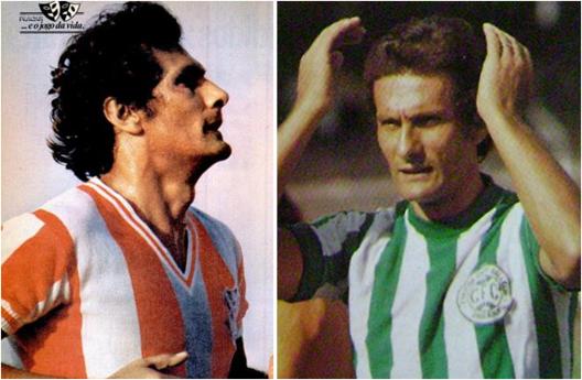 No Bangu e no Coritiba, Pedro Rocha sempre adiava sua despedida do futebol. Crédito: revista Placar.