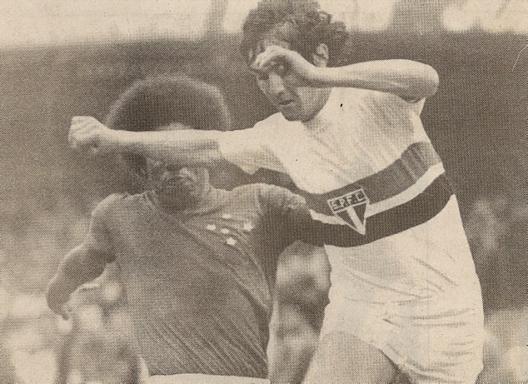 Muricy em partida contra o Cruzeiro no Morumbi. Crédito: revista Placar.