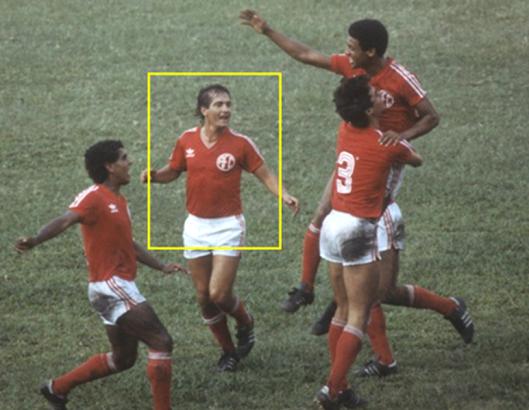 Muricy, em destaque, nos tempos de América do Rio de Janeiro. Crédito: lanceactivo.com.br.
