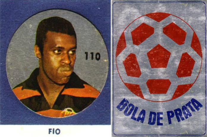 Álbum de figurinhas Bola de Prata 1971.Crédito: albumefigurinhas.no.comunidades.net.