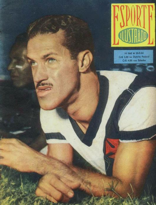 Crédito: revista Esporte Ilustrado número 860 - 30 de setembro de 1954.