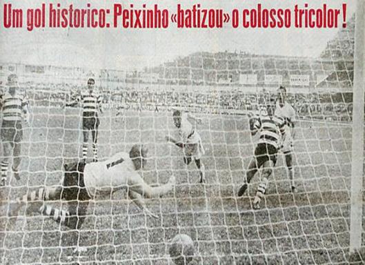A inauguração do estádio do Morumbi em 2 de outubro de 1960. Crédito: gazetaesportiva.net.
