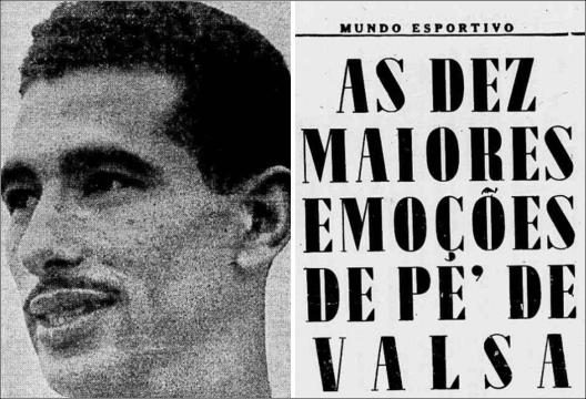 Crédito: Jornal Mundo Esportivo número 496 – Sexta Feira, 16 de outubro de 1953.