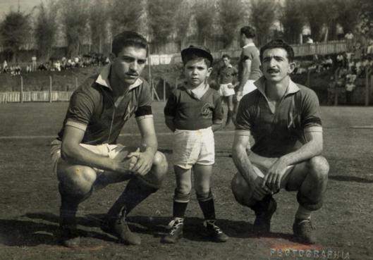Américo (esquerda) no XV de Jaú. Crédito: americomurolo.esp.br.