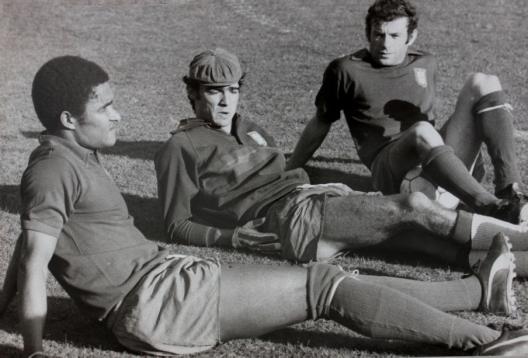 Eusébio na seleção portuguesa.