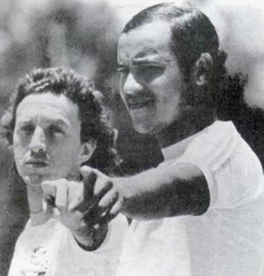 Douglas e Sapatão. Crédito: revista Placar - 30 de novembro de 1979.