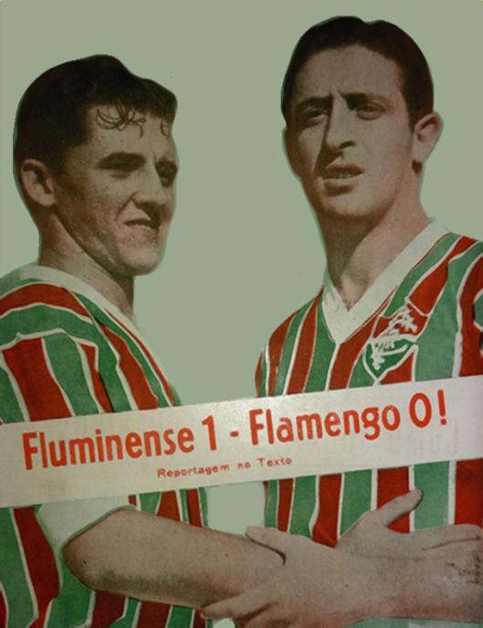 Pedro Amorim e Spínelli. Crédito: reprodução revista Esporte Ilustrado número 324 - 22 de junho de 1944.
