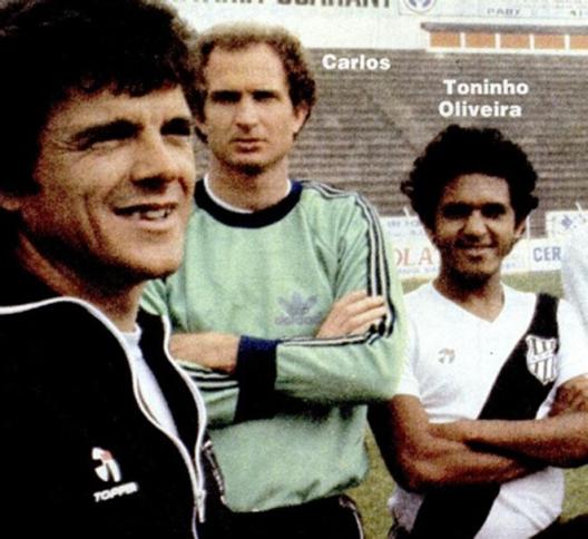"""Indicado por Zé Duarte, Jair se deu bem em seu primeiro trabalho como treinador na """"Macaca"""". Crédito: revista Placar – 23 de outubro de 1981."""