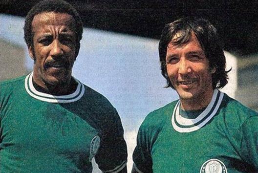 Beto Fuscão e Mário Soto. Crédito: revista Placar – 15 de abril de 1977.