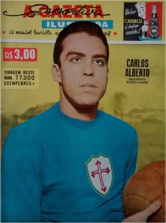 Crédito: revista A Gazeta Esportiva Ilustrada número 110 - Abril de 1958.