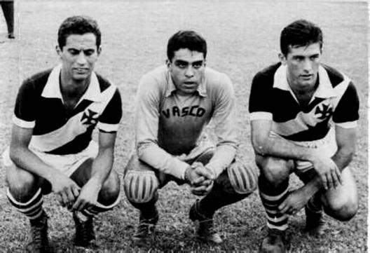 Paulinho, Carlos Alberto e Bellini.